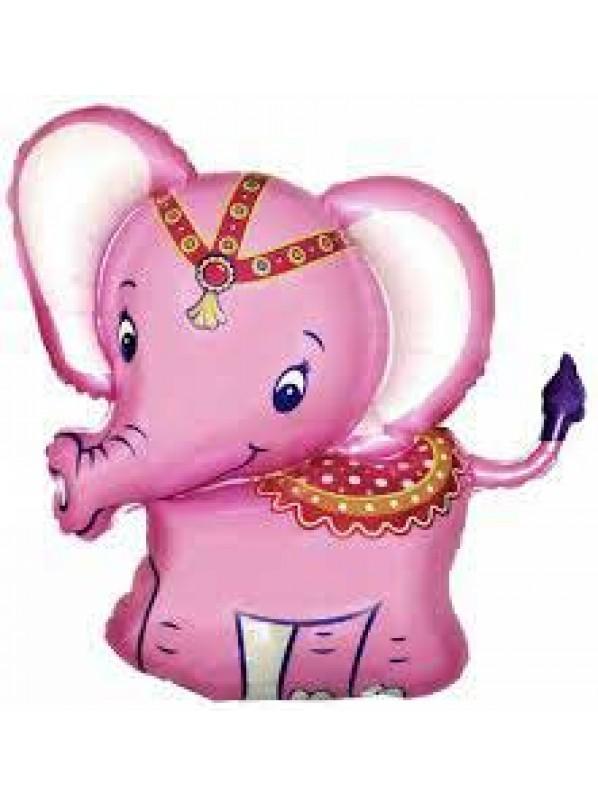 Шарик из фольги. Слоненок. размер 18