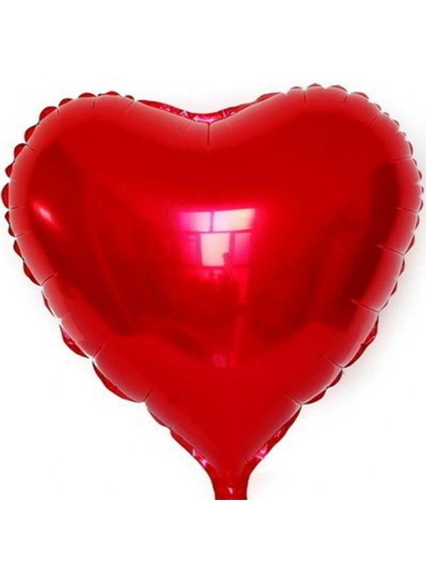 Шар из фольги. Сердце Размер 14