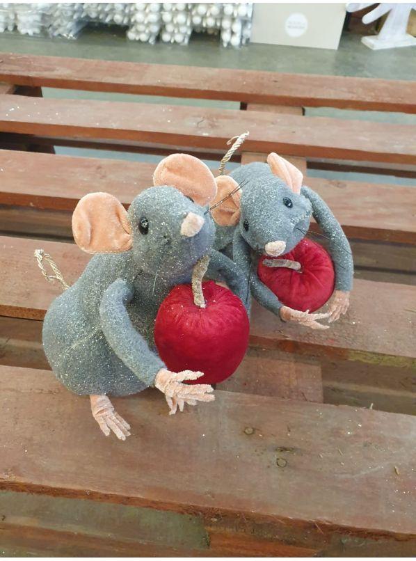 купить  Мышку с яблоком